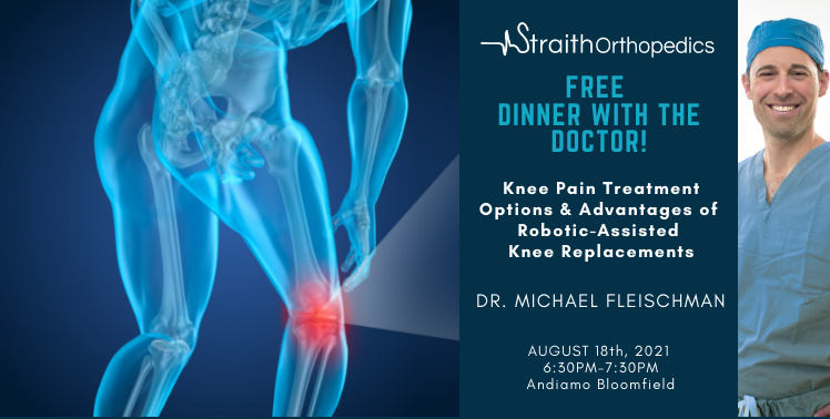 """""""Knee Pain Treatment Options & Advantages of Robotic-Assisted Knee Replacements"""""""