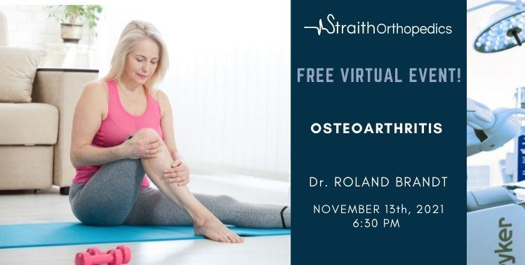 Osteoarthritis – Dr. Brandt